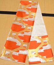 Silk Fukuro Obi 418cm belt for furisode kimono Women Japanese vintage sash /533