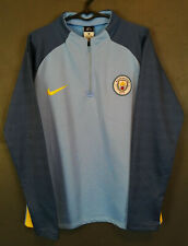 MENS NIKE MANCHESTER CITY 2016/2017 TRAINING FOOTBALL SOCCER SHIRT JERSEY SIZE M