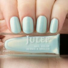 NEW! Julep nail polish MANDA Nail Vernis ~ Sky blue with golden shimmer