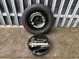 2007 MERCEDES C CLASS W204 SPACE SAVER WHEEL 125/90/R16 AND JACK TOOLS SET   •13