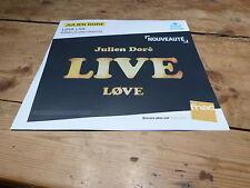 JULIEN DORE - LIVE LOVE !!!! DISPLAY !!PLV 30 X 30 CM !!!!!!!!!!!!!!!