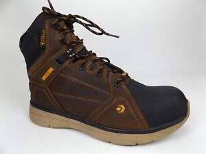"""MEN'S Wolverine RIGGER EPX CARBONMAX SAFETY TOE 6"""" BOOT Size 11.5  Leather 20503"""