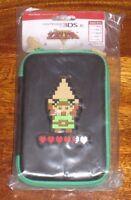 Official Legend of Zelda 3DS XL Case 8-bit Retro Limited Rare Hard Pouch BNIP