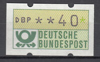 BRD 1981 Automaten-Freimarke 40er Postfrisch gelbe Gummierung ohne Nr. (21381)