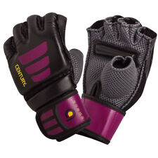 Century Women's Brave Grip Bar MMA Training Bag Gloves - S/M - Black/Pink