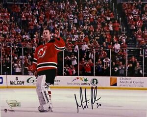 New Jersey Devils Martin Brodeur Signed 8x10 Photo Fanatics Holo