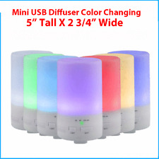 Diffuser Humidifier LED Essential Oil Aroma Ultrasonic Air Aromatherapy Atomizer