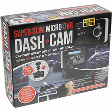 "SLIM MICRO DVR DASH CAM COMPACT 2.5"" TFT LCD SCREEN CAR CCTV CAMERA RECORDER"