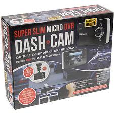 "Slim Micro DVR Cámara en Tablero Compacto 2.5"" Pantalla TFT LCD Coche Grabadora de CCTV Cámara"