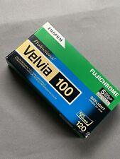 1 Box Of 5 Rolls Fujifilm Velvia 100 color reversal 120 film