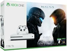 Microsoft Xbox One S 1TB Console Halo Bundle, Halo 5 + Master Chief Collection