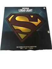 Superman Logo Light