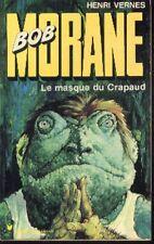 BOB MORANE 129 EO Pocket Marabout 133 Le Masque du Crapaud Henri VERNES Vernes