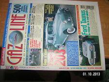 Gazoline n°7 Guide Achat Peugeot 203 / Ford Taunus