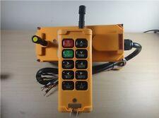 10 Channels Hoist Crane Radio Remote Control System 12VDC/AC