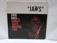 EDDIE DAVIS -Jaws ~PRESTIGE 7154 {orig} wShirley Scott, Duvivier, Edgehill >RARE