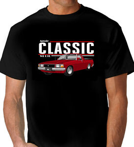 WB  HOLDEN   UTE  BLACK T-SHIRT  TOP QUALITY  ( 7 CAR COLOURS )   BIG  FIT.