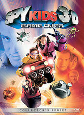 Spy Kids 3-D Game Over Two-Disc Collector's Series NEW! GLASSES INCLUDED!
