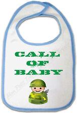 Bavoir Bleu Bébé Call of Baby