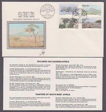 SWA # 512 - # 515 , Landscape & Wildlife Paintings FDC - I Combine S/H