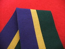 Efficiency Decoration 1930 Post 1969 T&AVR Medal Ribbon Full Size 38mmx16cm