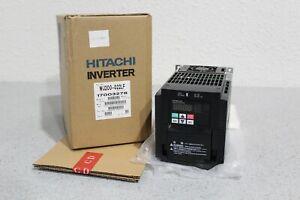 BRAND NEW Hitachi Inverter WJ200-022LF Dual Rated 3hp CT 4hp VT 200-240volt 3ph
