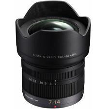 Panasonic f/4.0 Lumix G Vario 7-14mm  ASPH. Objektiv für m4/3 -Black.