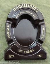 #AA.  McWILLIAMS CENTENARY  ASHTRAY, 1877 to 1977