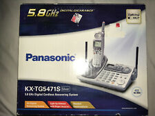 Panasonic KX-TG5471S Digital Cordless Answering System