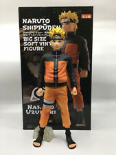 BANPRESTO Naruto Uzumaki Shippuden Big Size Soft Vinyl Figure Model 27 Cm Tall