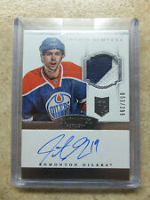 13-14 Panini Dominion Autograph Rookie RC Patch #156 JUSTIN SCHULTZ /299