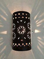 applique murale Marocaine fer forgé lampe lustre lanterne decoration oriantale 8