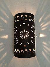 lámpara de pared marroquí hierro forjado araña farolillo decoración oriental 8