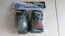 Trans Formers Dark of the Moon Protective Gear knee + elbow pads set + gloves