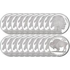 2017 Buffalo Medallion 5oz .999 Silver (20pc)