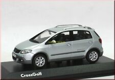VW Volkswagen Cross Golf 5 V 2007 eissilber ice silver Minichamps 1:43 dealer