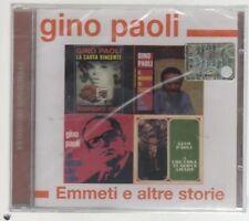 GINO PAOLI EMMETI E ALTRE STORIE CD SIGILLATO!!!