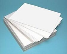 50 A4 SMOOTH 250GSM DECOUPAGE THICK WHITE CRAFT CARD