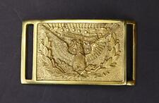 U.S. Civil War Union North Hardee Eagle Brass Sword Belt Buckle Reproduction