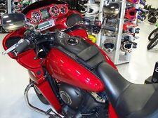 LEATHER MOTORCYCLE TANK BIB FOR KAWASAKI VAQUERO