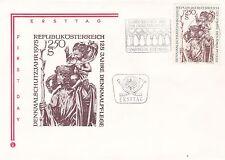 Austria 1975 European Architectural Heritage Year Unadressed(2) FDC