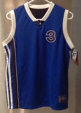 New Russell Athletic Youth Reversible Basketball Jersey Numbered #3 size M 10/12