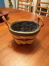 1999 Longaberger Collector's Club Decorative Hand Woven Basket