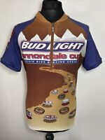 Cannondale Cup Vintage Bud Light Cycling Jersey Shirt Short Sleeve XL