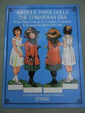 Vintage Book of Antique Paper Dolls The Edwardian Era NWT