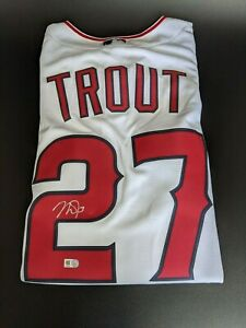 MIKE TROUT - AUTOGRAPHED Nike Jersey - MLB Hologram Authentic - ANGELS