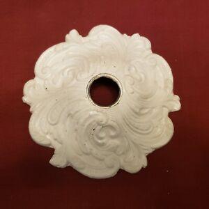 """Antique Decorative Cast Metal / Cast Iron Ceiling Mount Light Fixture - 6"""" x 6"""""""