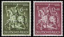 EBS Germany 1943 German Goldsmiths' Society Goldschmiedekunst Michel 860-1 MNH**