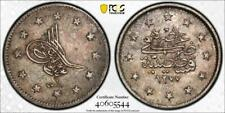 1860 - AH 1277/1 - Turkey 2 Kurish - PCGS XF-45 - Tough Date