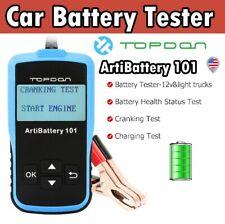OBD2 Car Battery Tester 12V Auto Charging System Automotive Analyzer 100~2000CCA
